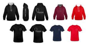 Hoodies und T-Shirts